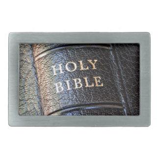 Sagrada Biblia Hebilla Cinturón Rectangular