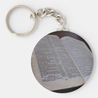 Sagrada Biblia Llaveros Personalizados