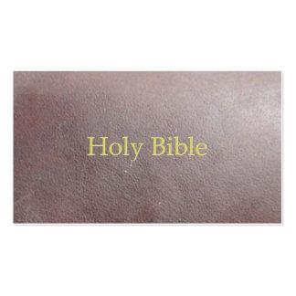 Sagrada Biblia Tarjetas Personales