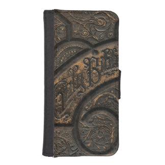 Sagrada Biblia vieja Fundas Billetera De iPhone 5