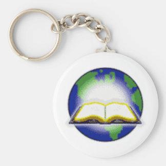 Sagrada Biblia y globo Llaveros Personalizados