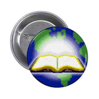 Sagrada Biblia y globo Pin