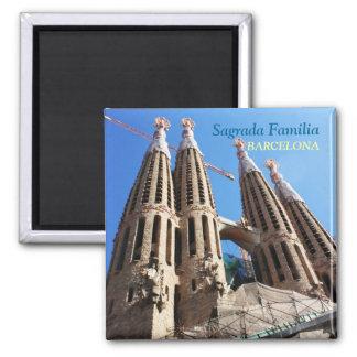 Sagrada Familia 2 Inch Square Magnet