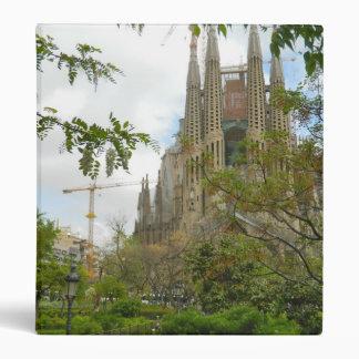 Sagrada Família, Barcelona 3 Ring Binder