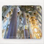 Sagrada Familia, Barcelona Alfombrilla De Ratón