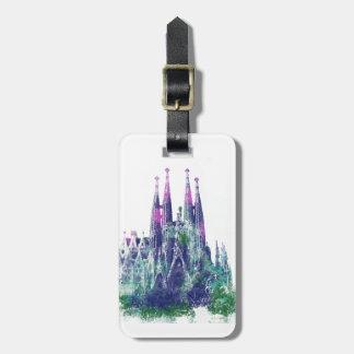 Sagrada Familia Barcelona Bag Tag