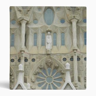Sagrada Familia, Barcelona 3 Ring Binder