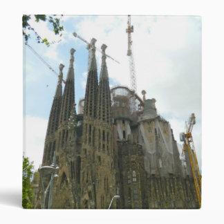 Sagrada Familia, Barcelona Vinyl Binders