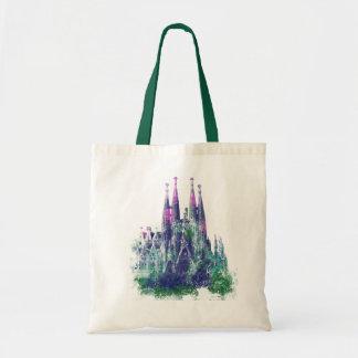 Sagrada Familia Barcelona Bolsa Tela Barata