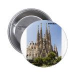Sagrada Familia Barcelona España Pin Redondo 5 Cm