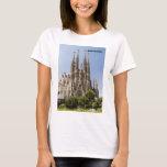 Sagrada Familia Barcelona España Playera