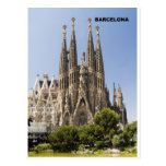 Sagrada Familia Barcelona España Postal
