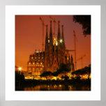 Sagrada Familia, Barcelona - España Póster