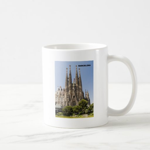 Sagrada Familia Barcelona España Taza