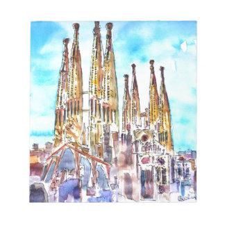 Sagrada Familia Barcelona Libretas Para Notas