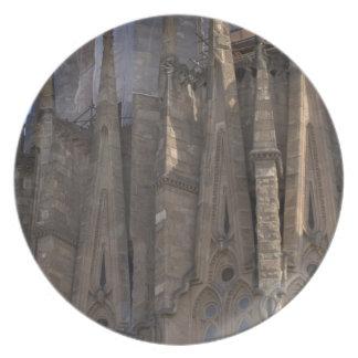 Sagrada Família, Barcelona Plate
