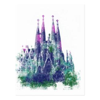 Sagrada Familia Barcelona Post Card