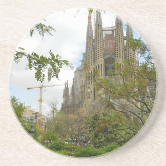 Sagrada Família, Barcelona Sandstone Coaster
