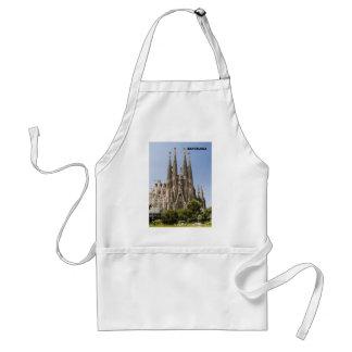 Sagrada Familia Barcelona Spain Adult Apron