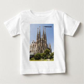 Sagrada Familia Barcelona Spain Baby T-Shirt