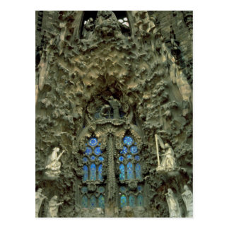 Sagrada Familia, Barcelona, Spain Postcard