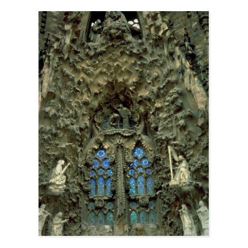 Sagrada Familia, Barcelona, Spain Postcard