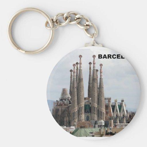 SAGRADA FAMILIA BARCELONA SPAIN (St.K) Keychains