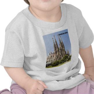 SAGRADA FAMILIA BARCELONA SPAIN (St.K) Tee Shirts