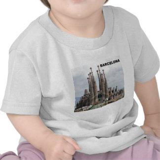 SAGRADA FAMILIA BARCELONA SPAIN (St.K) T-shirts