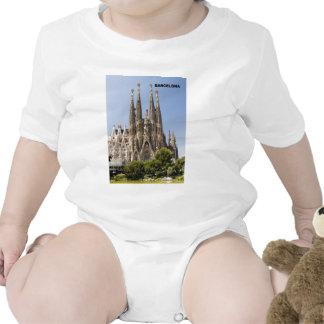 Sagrada Familia Barcelona Spain T-shirts