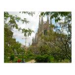 Sagrada Família, Barcelona Tarjetas Postales