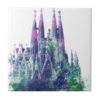 Sagrada Familia Barcelona Ceramic Tiles