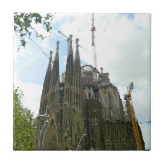 Sagrada Familia, Barcelona Ceramic Tile