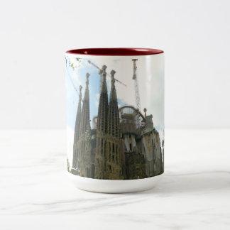 Sagrada Familia, Barcelona Two-Tone Coffee Mug