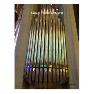 Sagrada Familia Cathedral Postcard