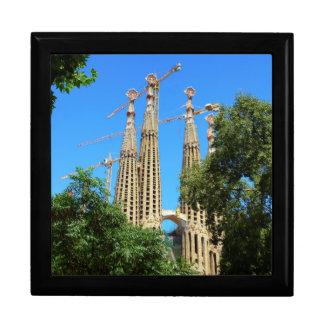 Sagrada Familia church in Barcelona, Spain Gift Box