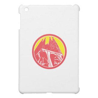 Sagrada Família Church Retro Cover For The iPad Mini
