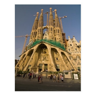 Sagrada Familia de Barcelona Postal