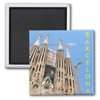 Sagrada Familia en Barcelona, España Imanes