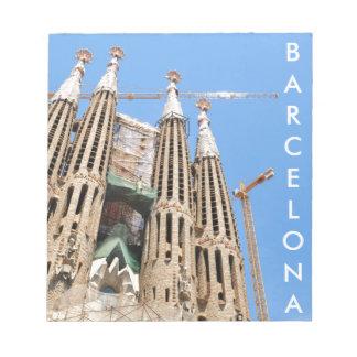 Sagrada Familia en Barcelona, España Libretas Para Notas