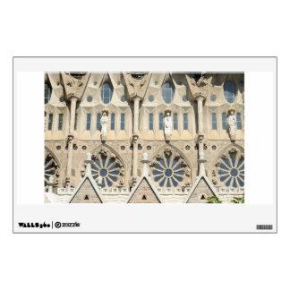 Sagrada Familia. Fachada de la pasión Vinilo