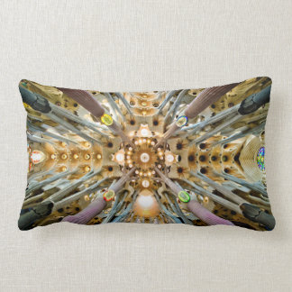 Sagrada Familia/fractales de cerámica Almohada