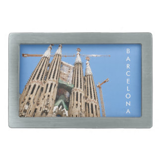 Sagrada Familia in Barcelona, Spain Belt Buckle
