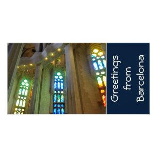Sagrada Familia. Interior Card