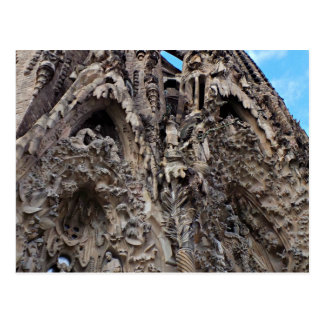 Sagrada Familia, Nativity Façade - Barcelona Photo Postcard