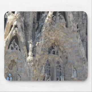 Sagrada Família Nativity Facade Mouse Pad