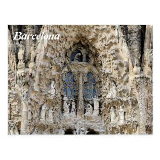 Sagrada Familia. Nativity facade. Post Cards