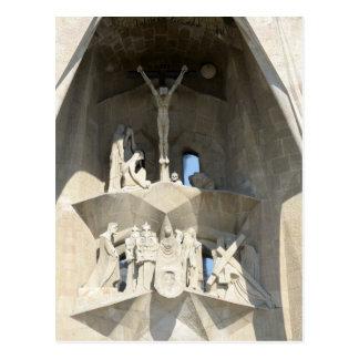 Sagrada Familia. Passion facade. 2014 calendar Postcard