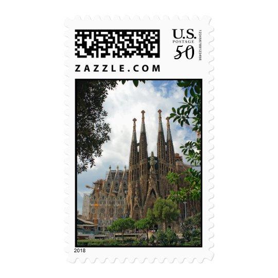 Sagrada Familia Postage