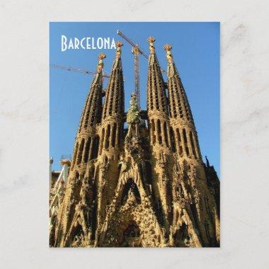 Sagrada Familia postcards
